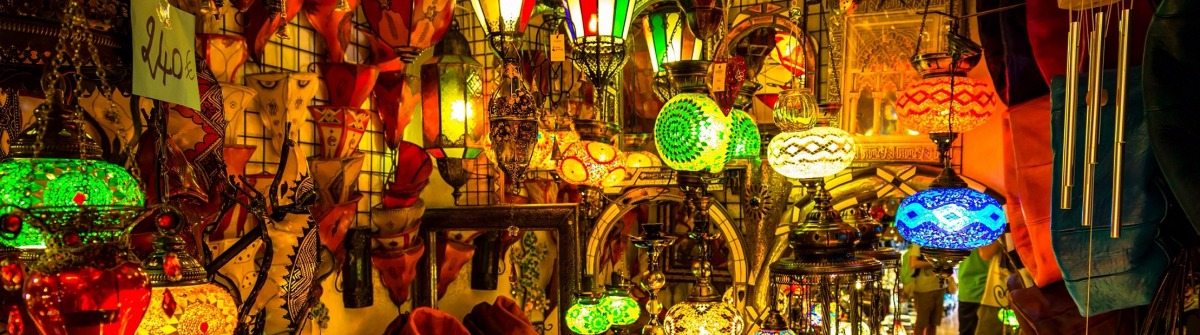 Arabic lamps and lanterns in the Marrakesh,Morocco shutterstock_339262838-2