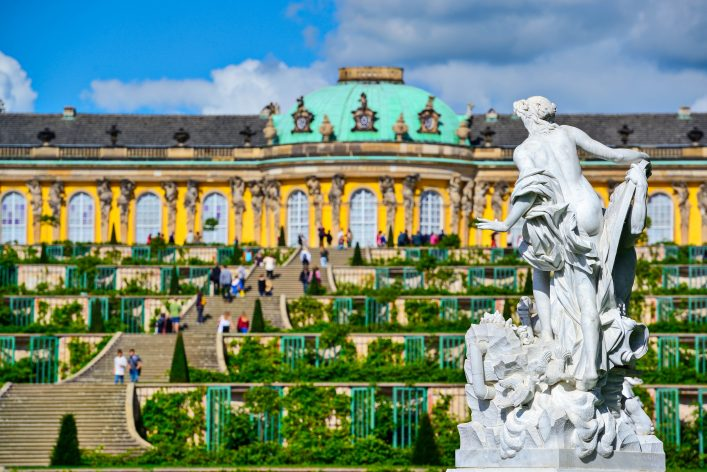 Sanssouci Palace in Potsdam, Germany shutterstock_155832185 EDITORIAL ONLY Sean Pavone-2