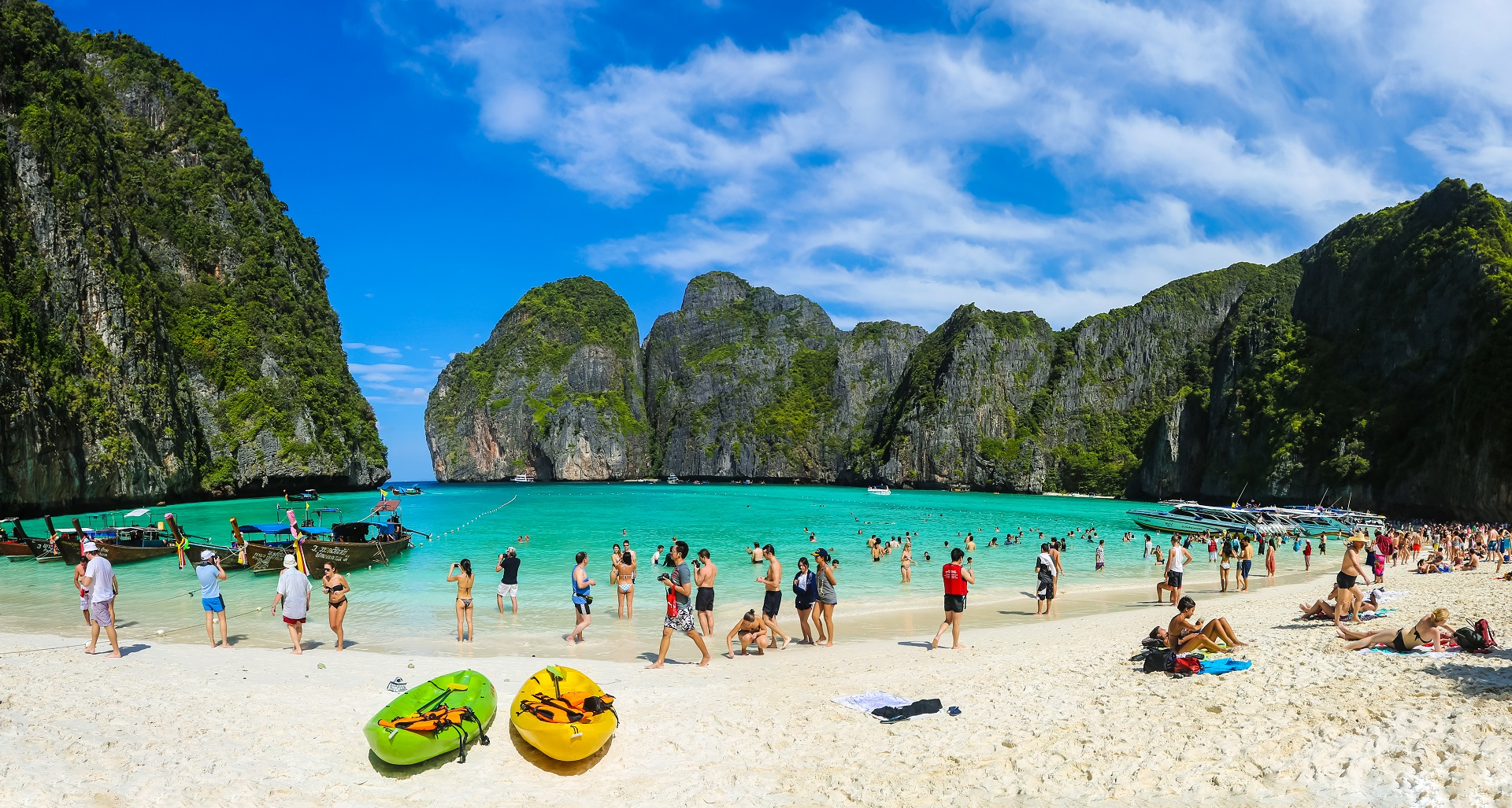 Maya Bay Sperrung, Thailand, The Beach, Ausflüge, Verbot