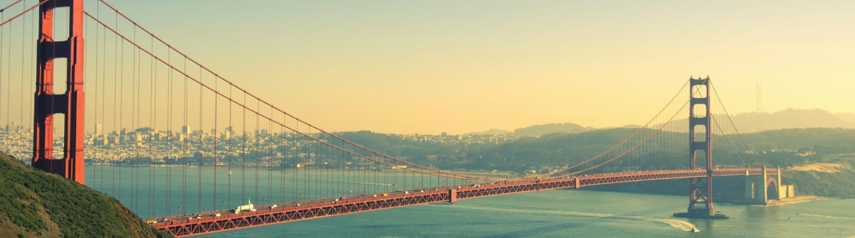 Panoramic view of Golden Gate brige in San Francisco_shutterstock_197404370copy