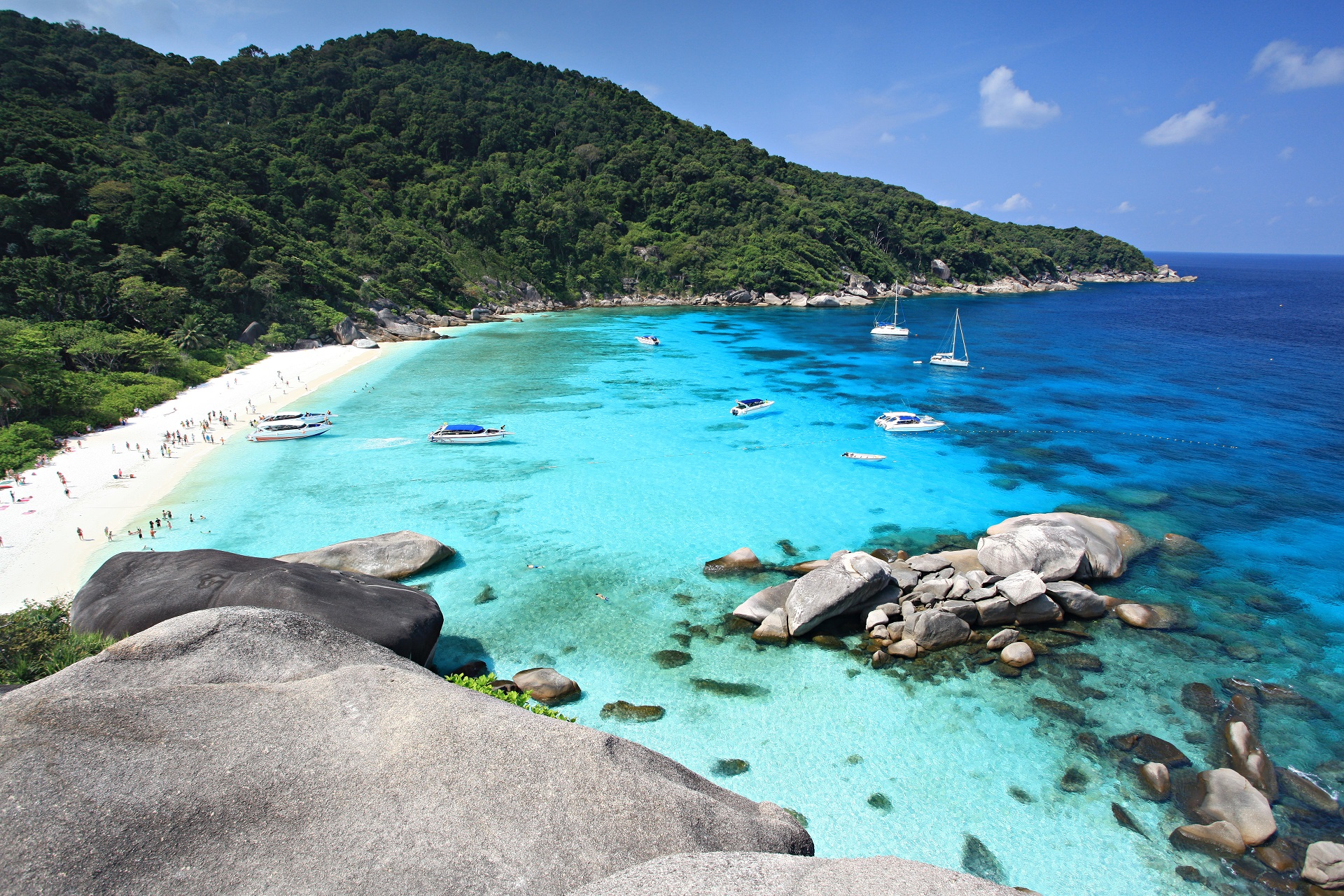 Similan Inseln in Thailand