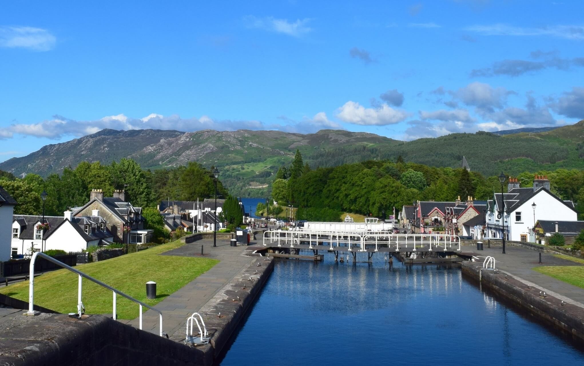 Fort Augustus in Schottland