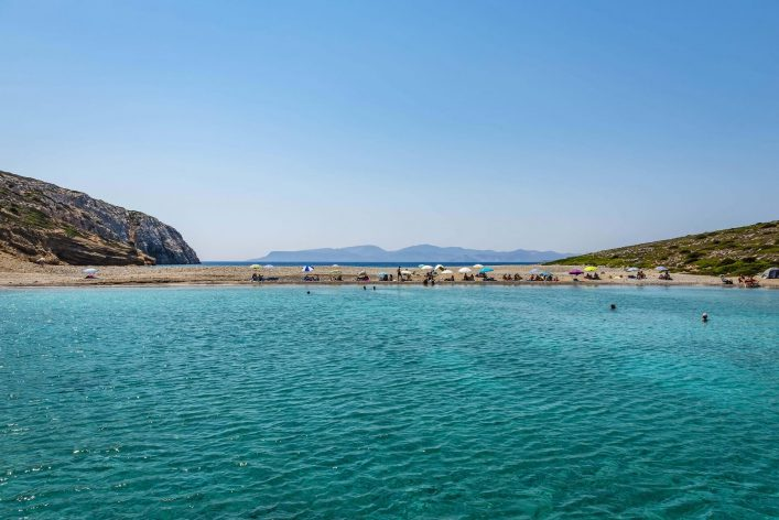 Kounoupa island and beach near Astypalaia island Greece shutterstock_402297643-2