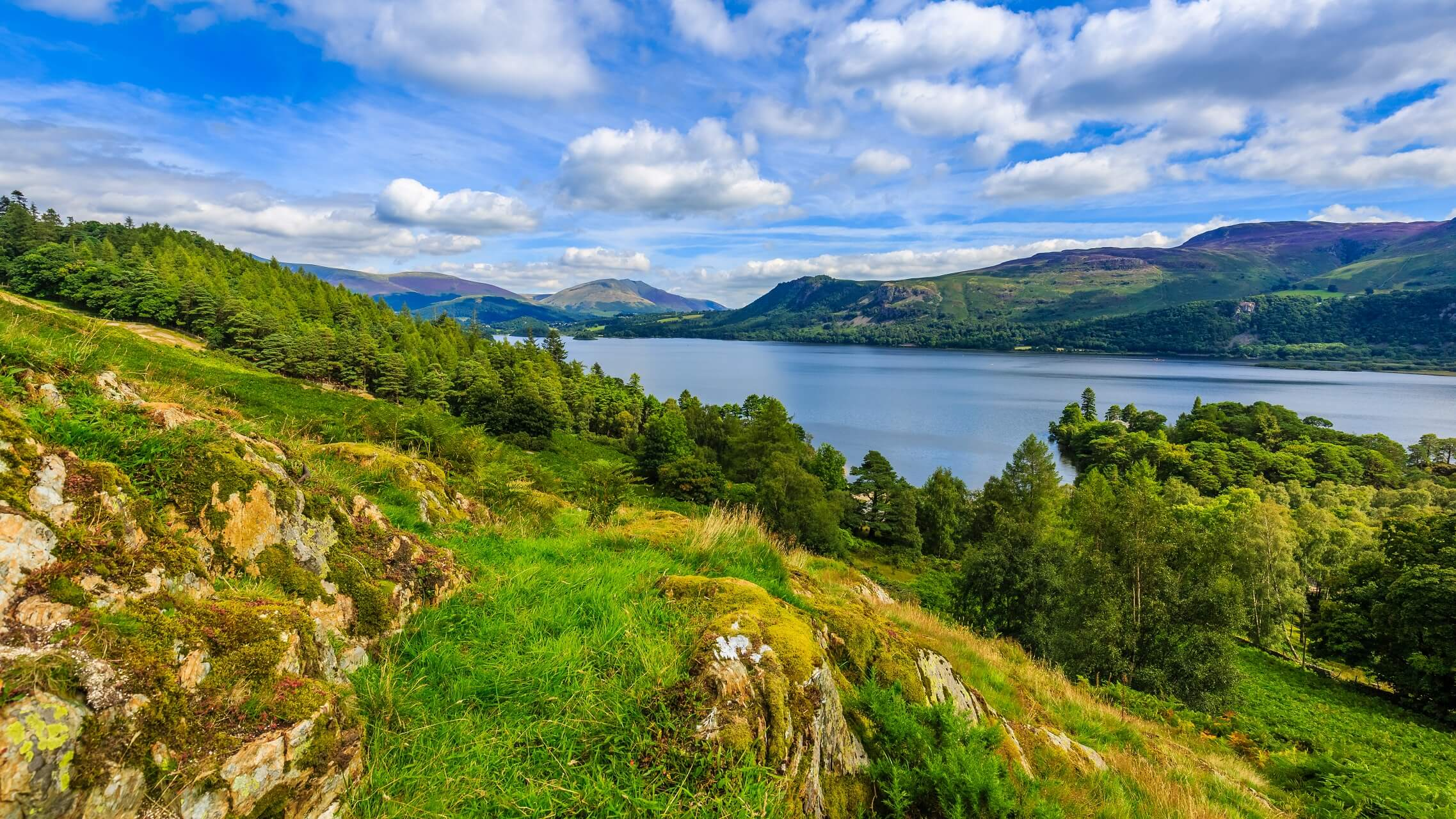 Der Lake District Nationalpark in England mit Traumkulisse
