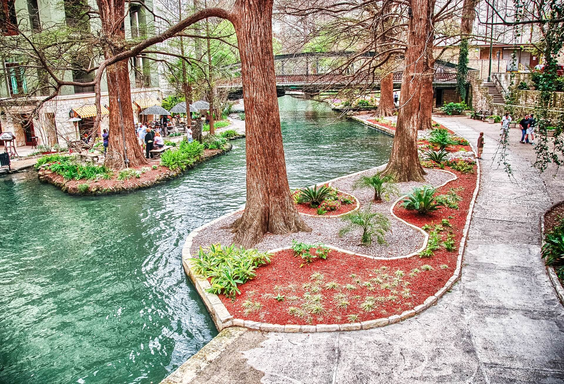 San Antonio Riverwalk Texas