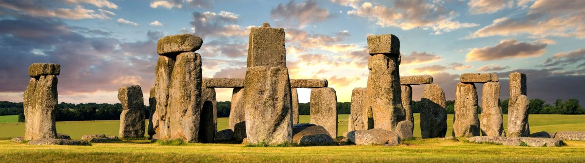 Unesco World Heritage site of Stonehenge.