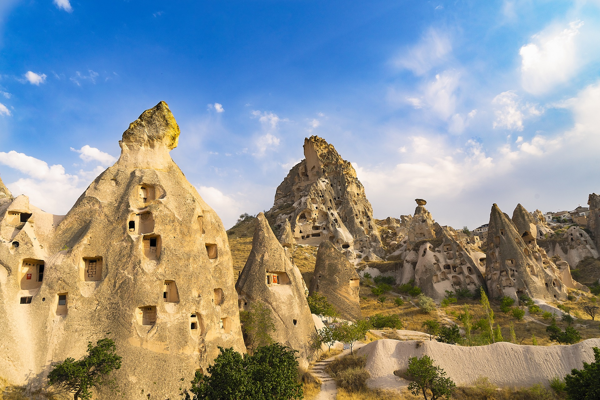 Der Nationalpark Göreme in Kappadokien