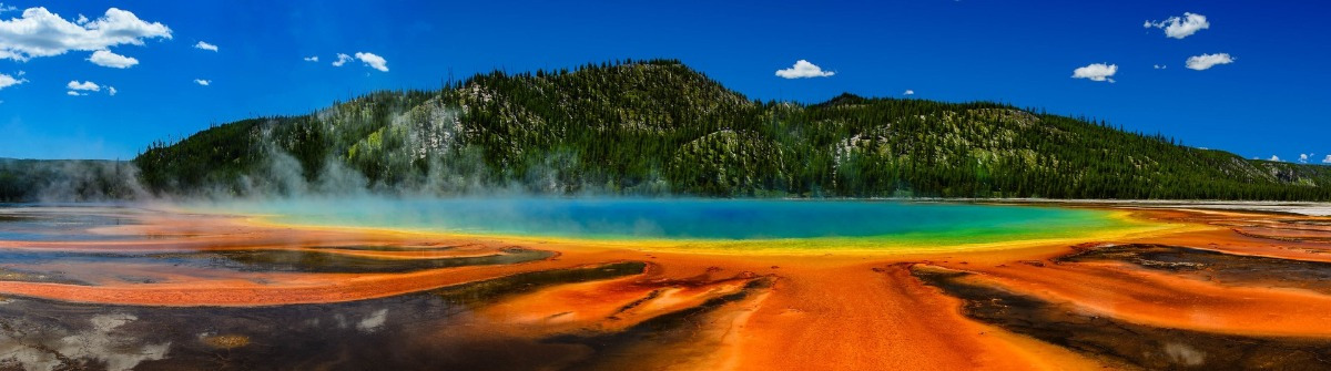 Quelle im Yellowstone Nationalpark, USA