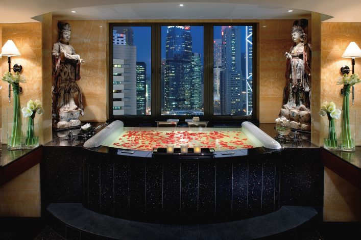 Die Madarin Suite Bathroom in Hongkong