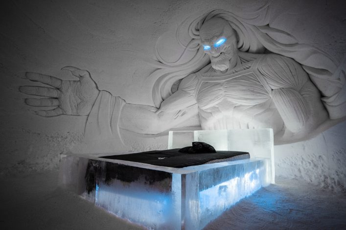 Game of Thrones Hotel in Finnisch Lappland