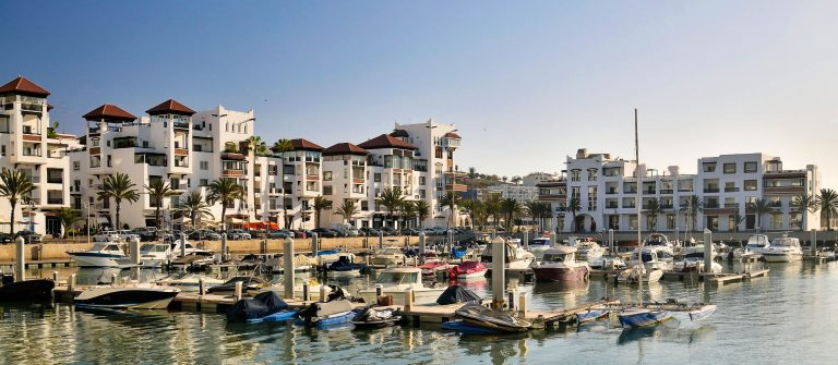Agadir Marina in Morning