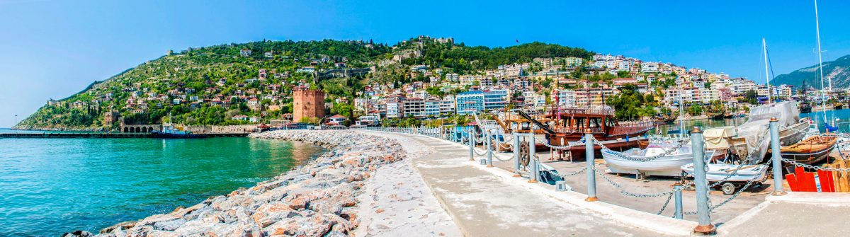 Cityscape of Alanya/Turkey