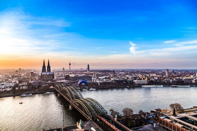 aerial-of-cologne-in-sunset-Germany-iStock_501511044_Large-2