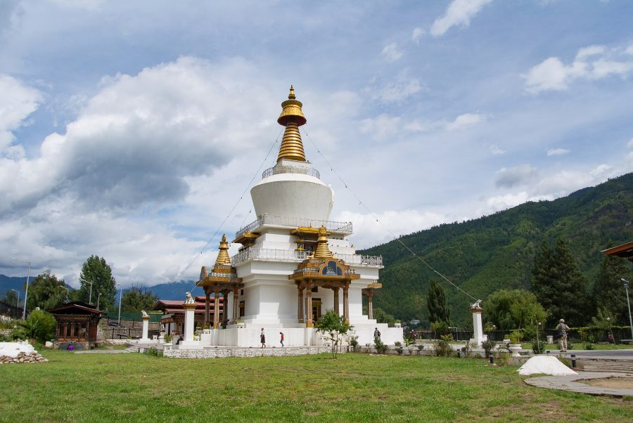 Memorial Chorten in Thimphu.