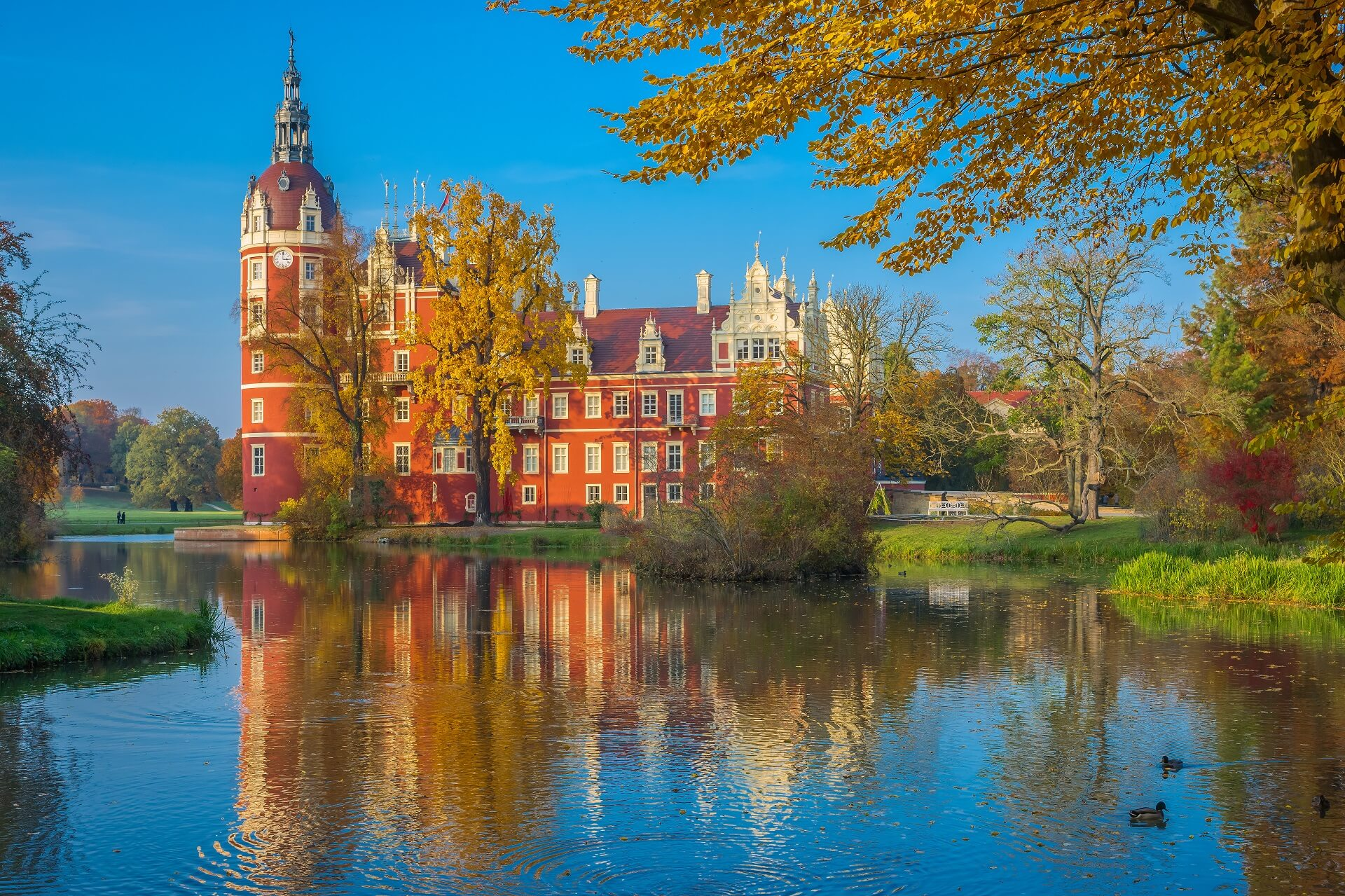 Fürst Pückler Schloss in Bad Muskau