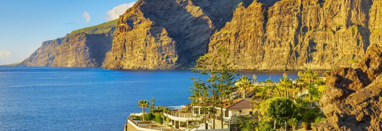 Los Gigantes Cliff, Canary Islands, Tenerife, Spain shutterstock_296090726-2