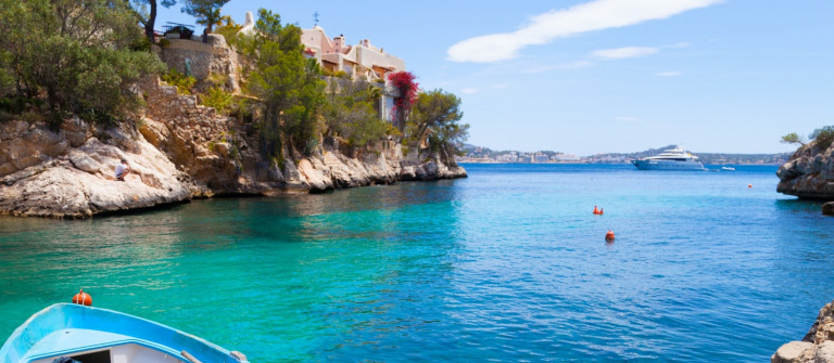 Cala Fornells View in Paguera, Majorca