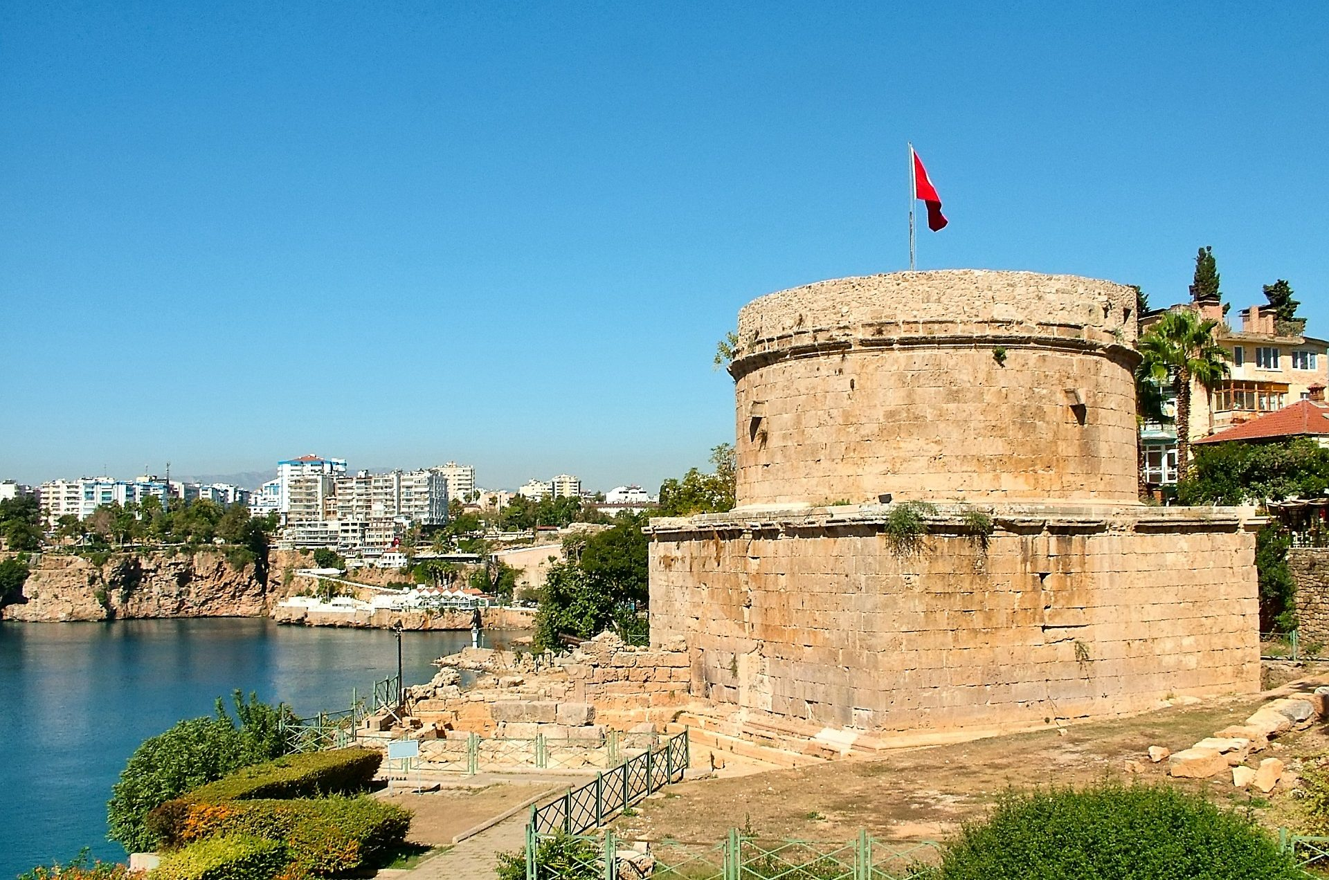 Hidirlik Turm in Antalya