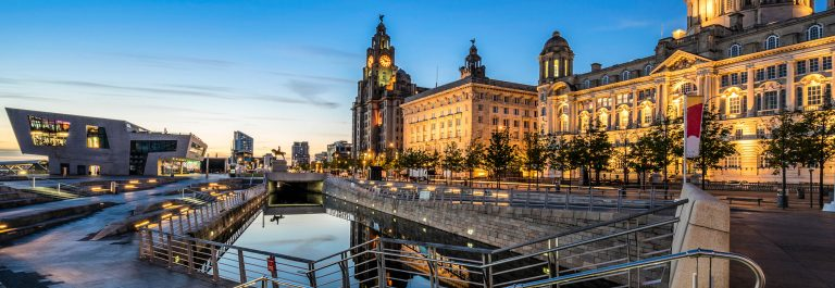 The-Three-Graces-on-Liverpools-Pier-Head-watefront-shutterstock_292476191-2