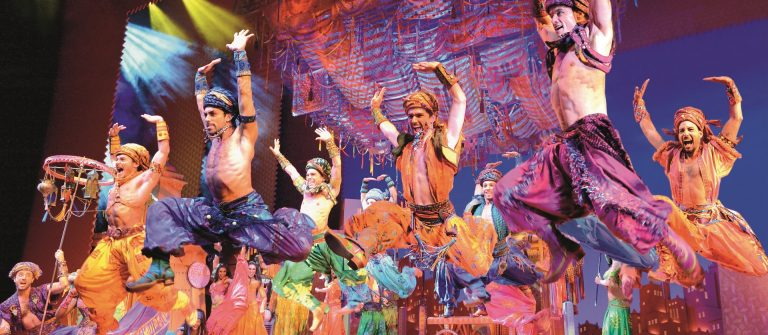 European premiere of Disneys Aladdin at the Stage Theater Neue F