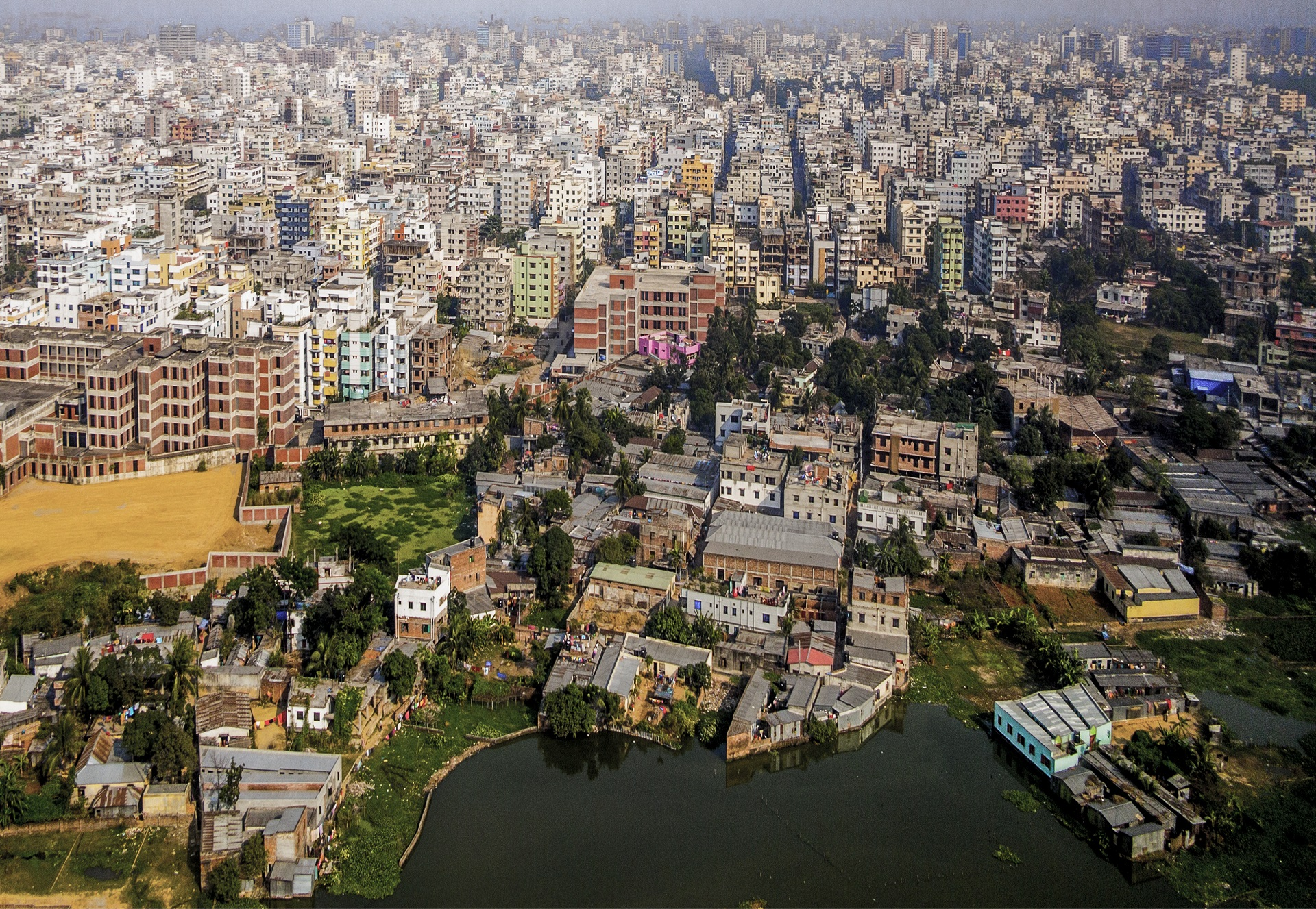 Dhaka in Bangladesh