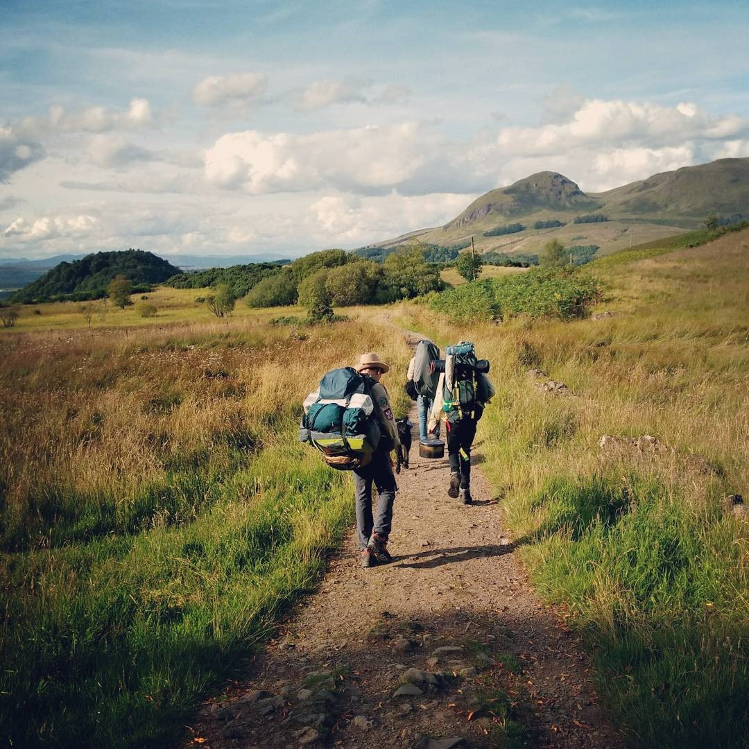 Backpacking auf dem West Highland Way