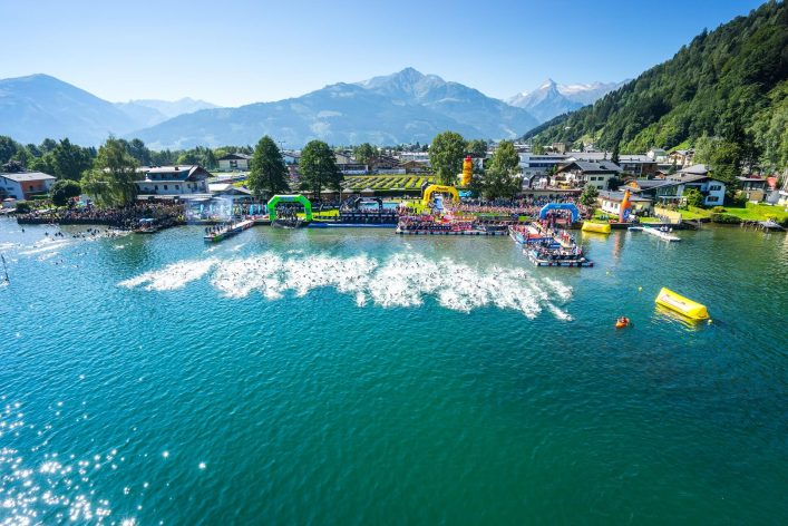 Der Ironmax 70.3 Start in Zell am See-Kaprun
