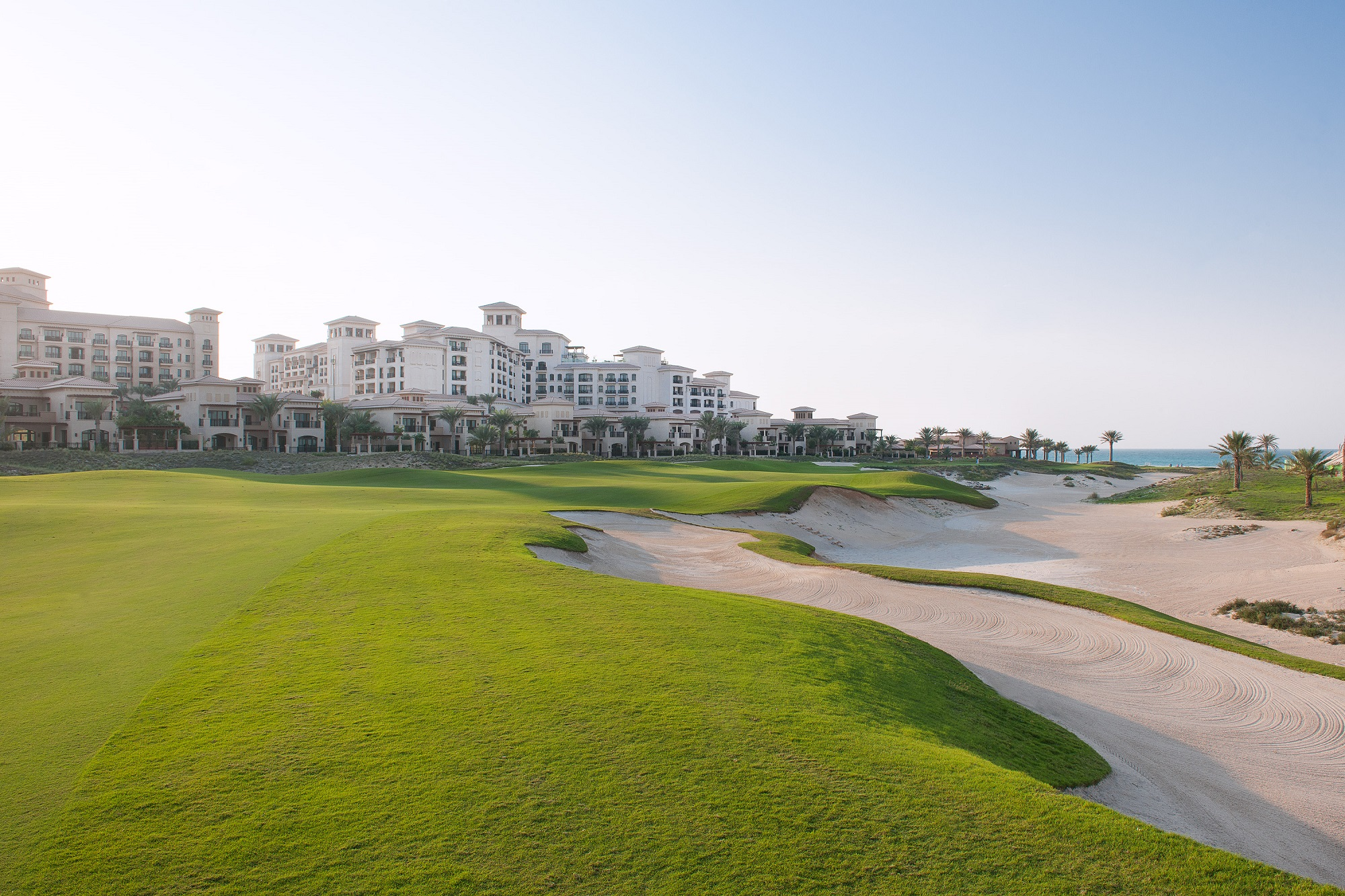 Golf Beach Club auf Saadiyat