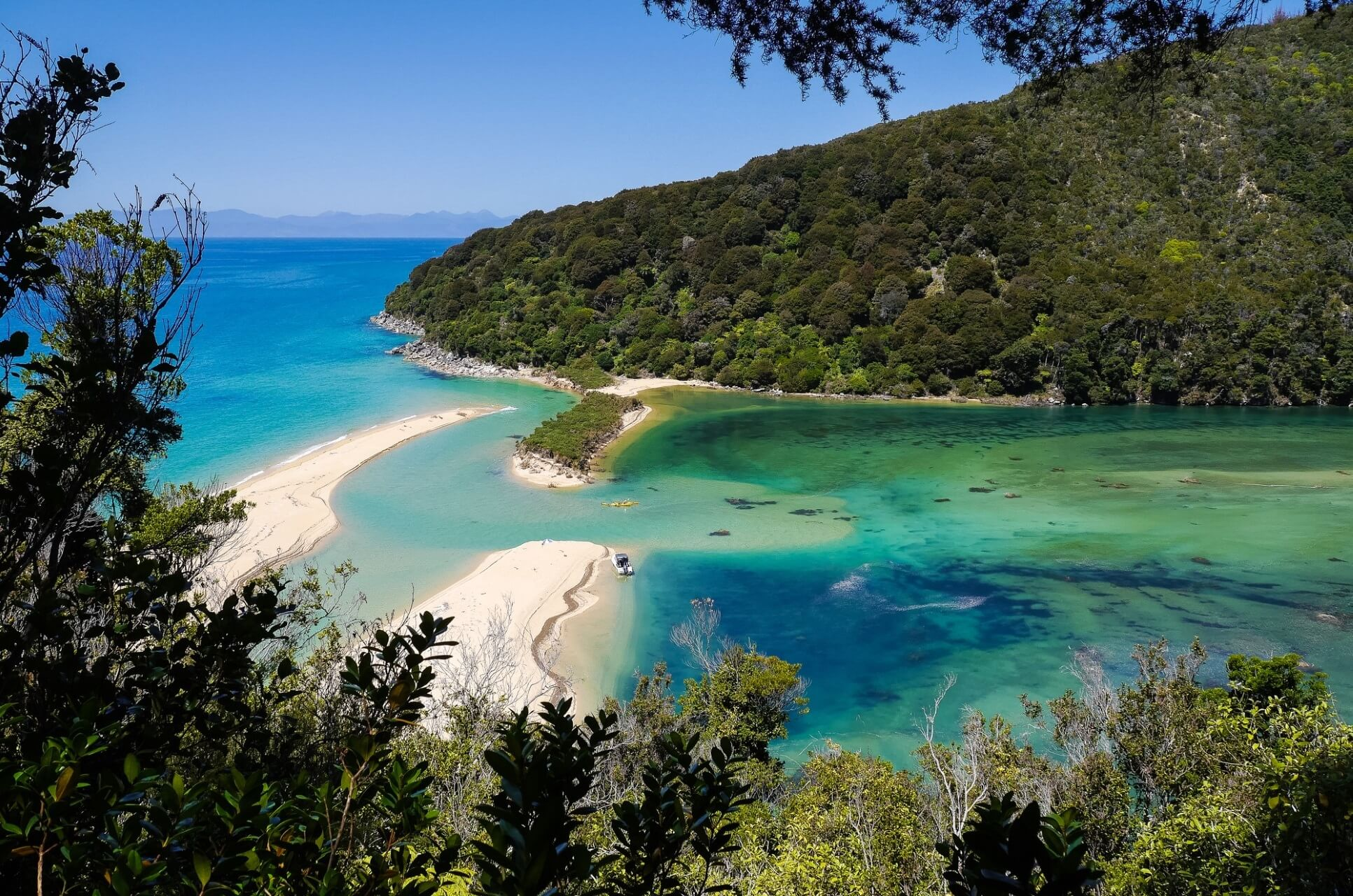 Abel Tasman Nationalpark in Neuseeland