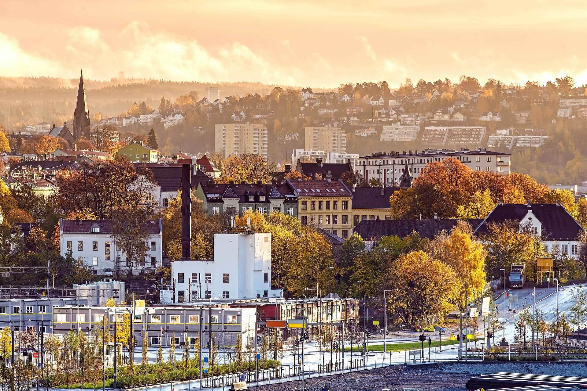 Oslo am Morgen