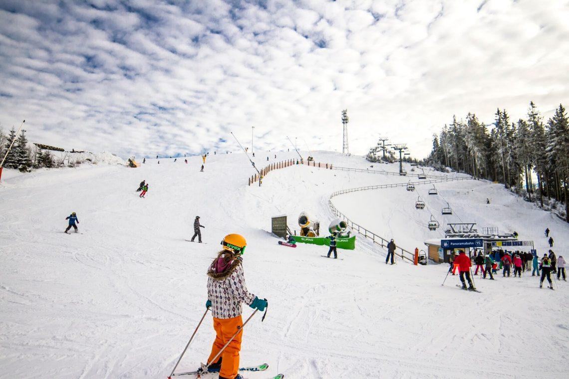 Käppchenhang im Skiliftkarussell Winterberg