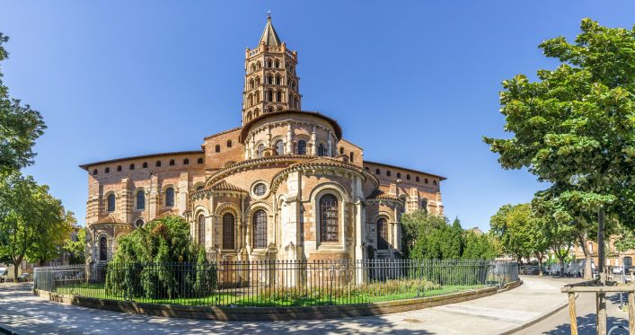 Saint Sernin Basilika in Toulouse