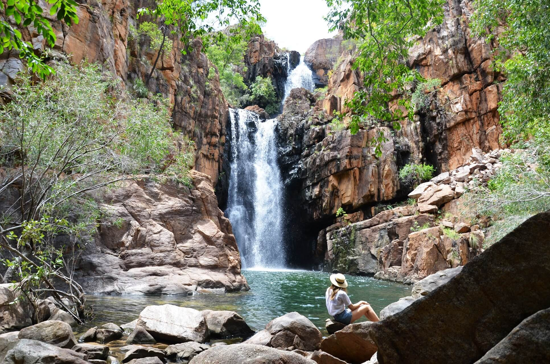 Das Southern Rockhole im Northern Territory