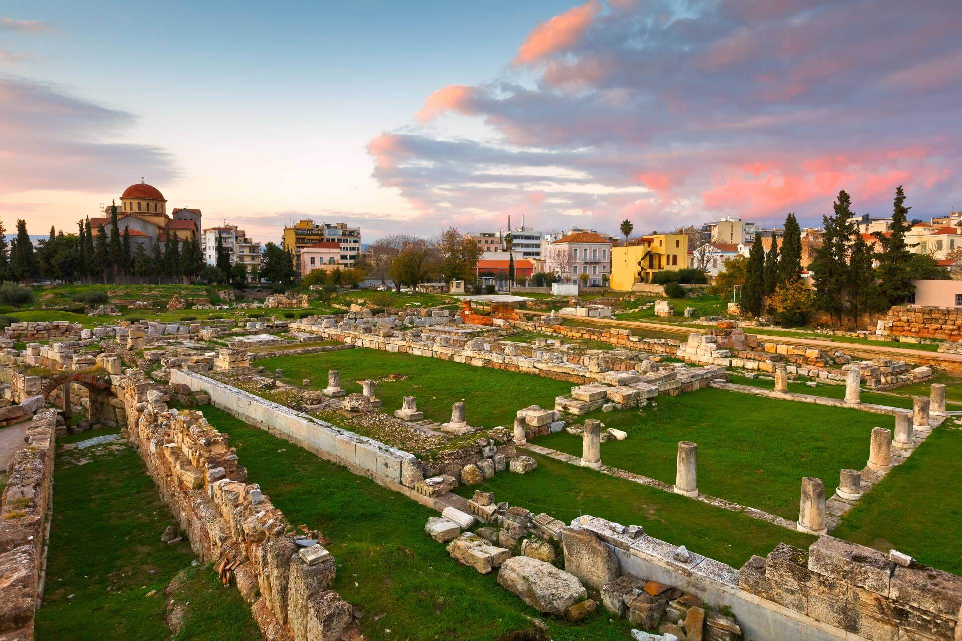 Friedhof in Kerameikos