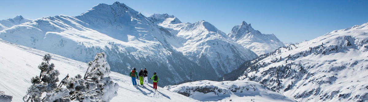TirolWest im Winter - St. Anton am Arlberg