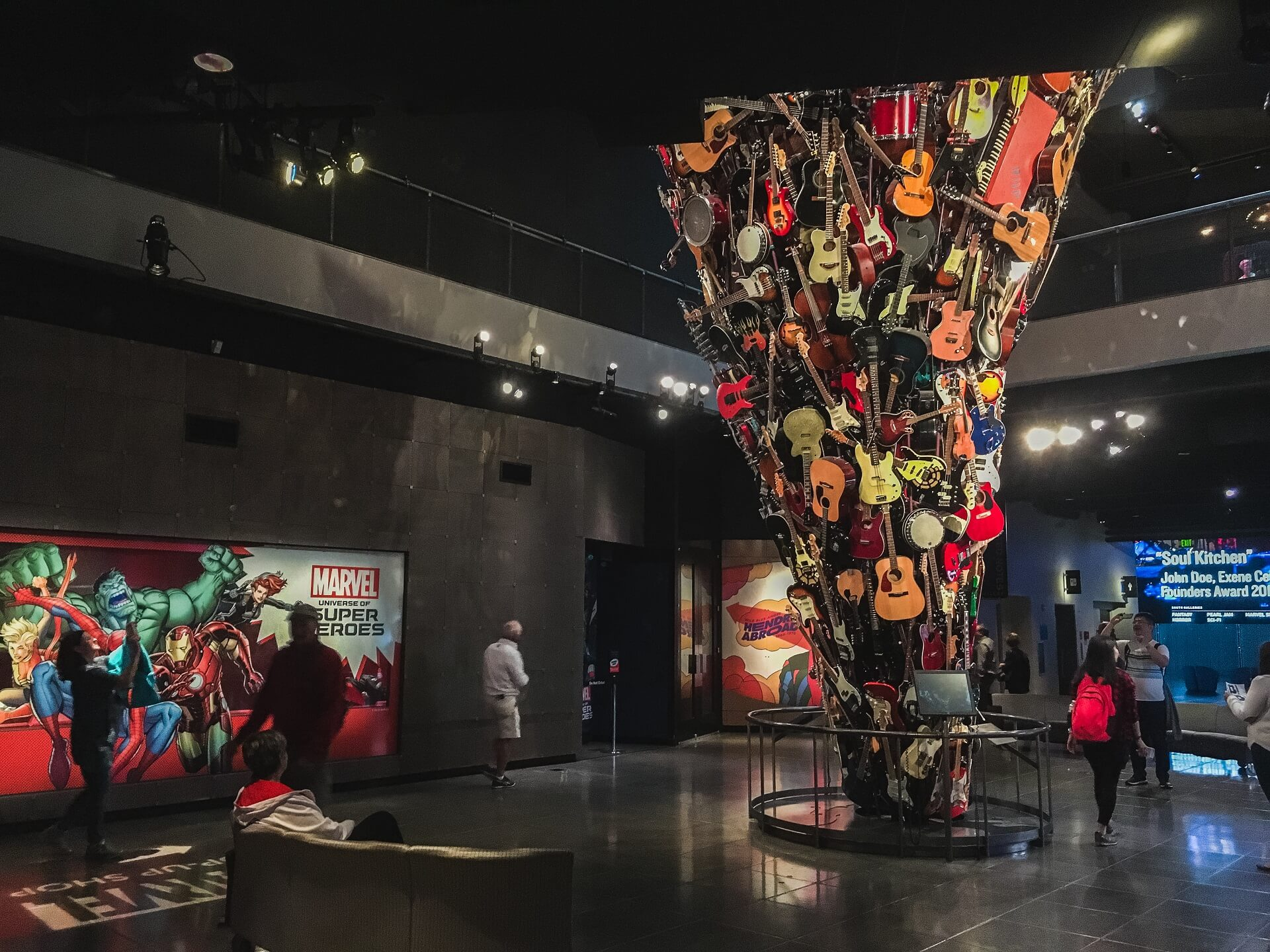 Das Museum of Pop Culture in Seattle