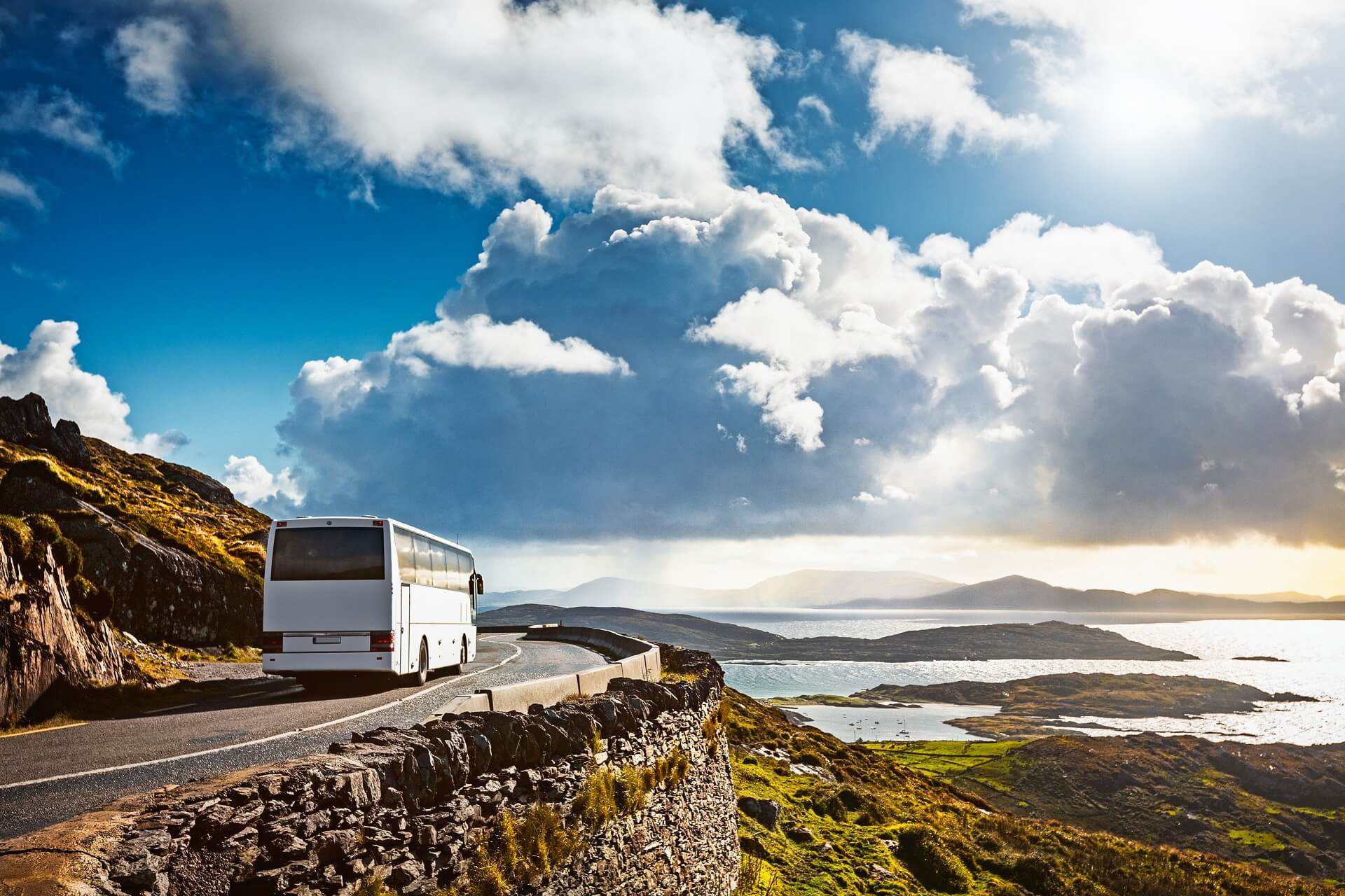Panoramaküstenstraße Ring of Kerry, Irland