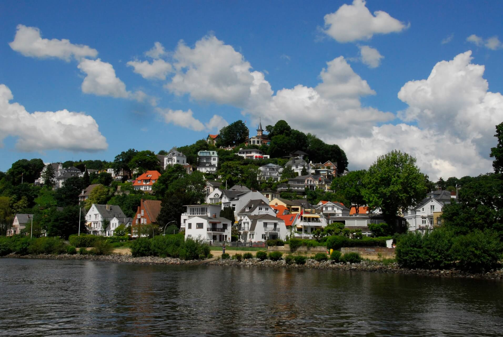 Blankenese in Hamburg