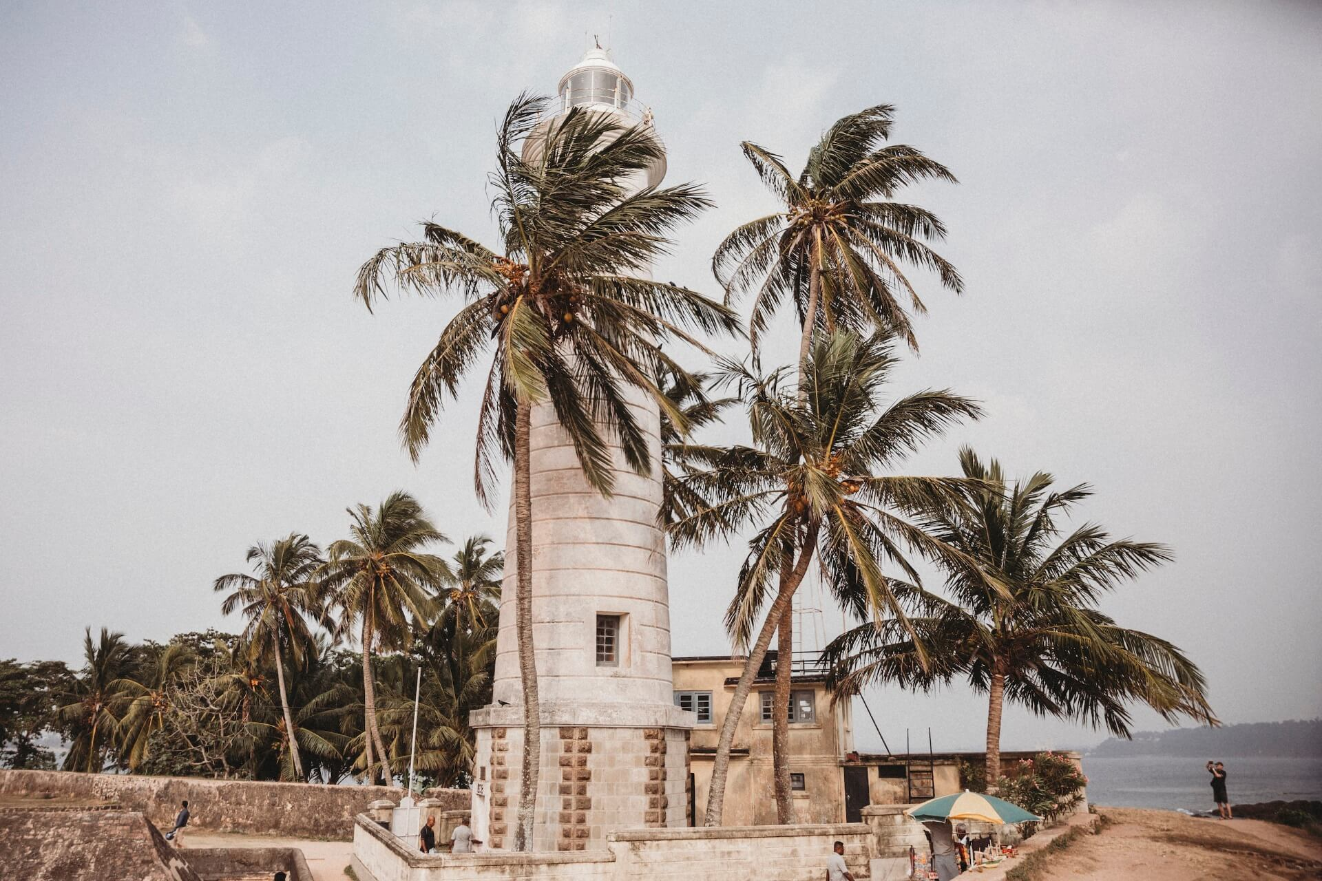 Fort Lighthouse in Galle