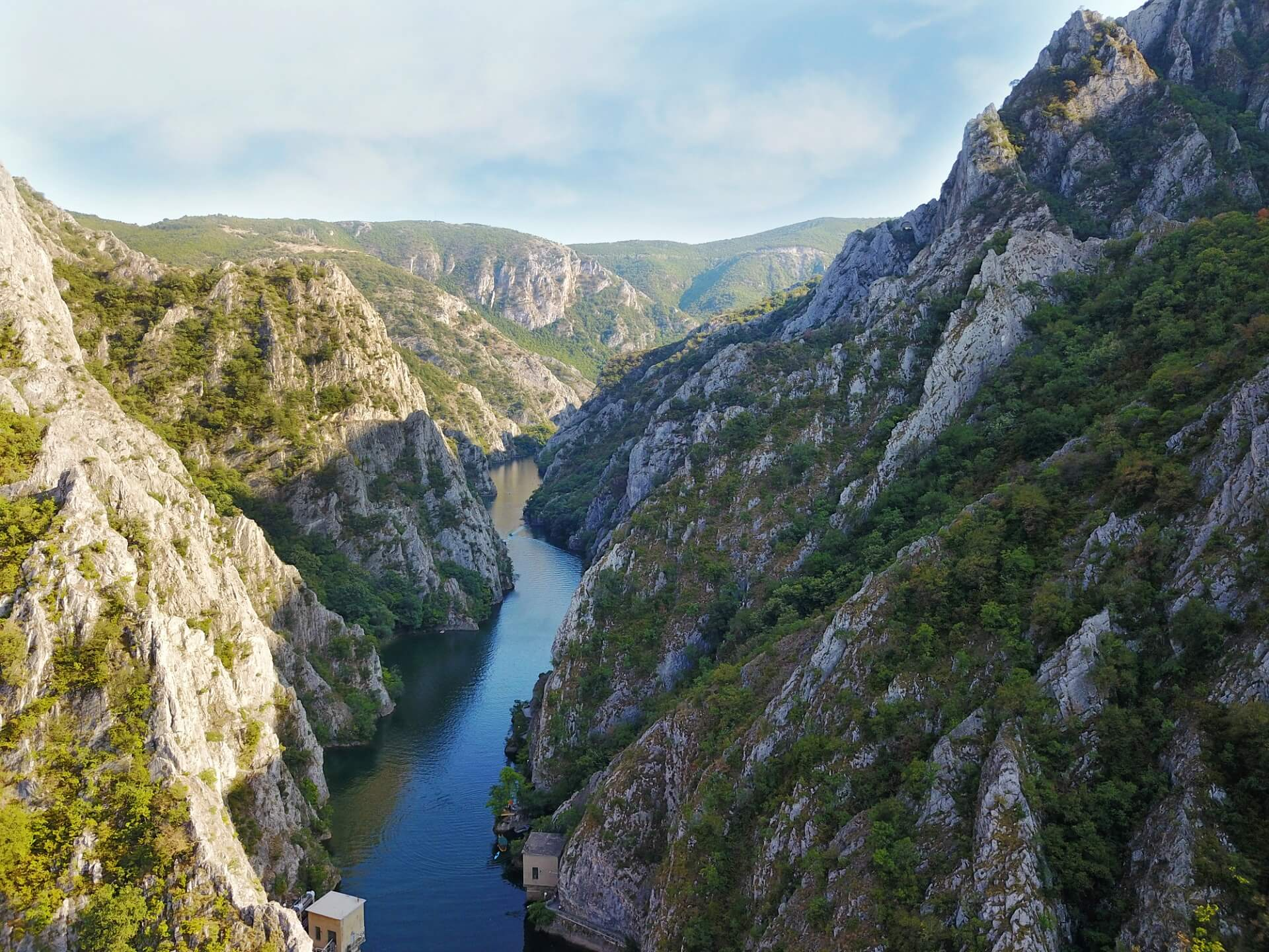 Matka Canyon in Mazedonien