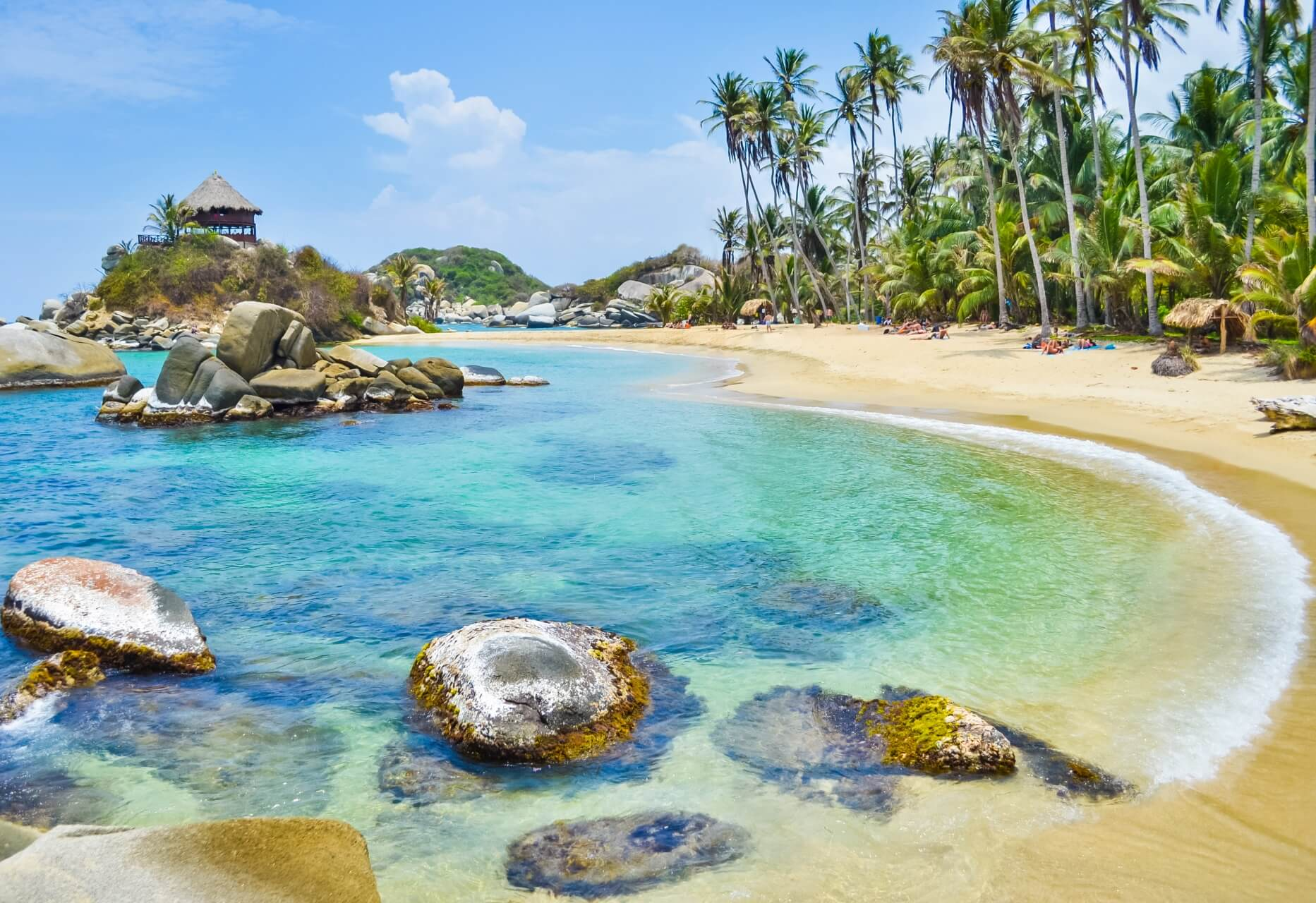 Tayrona Nationalpark in Kolumbien