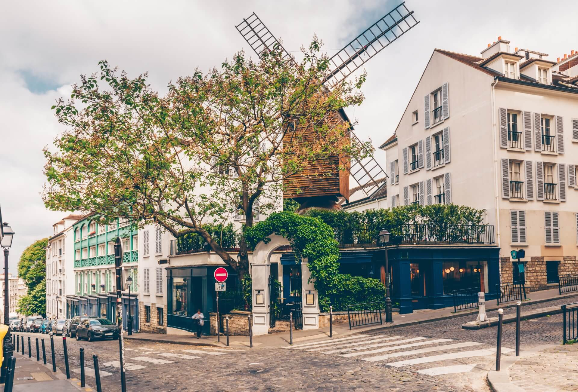 Mühle in Montmartre Paris