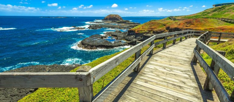 Phillip Island in Victoria