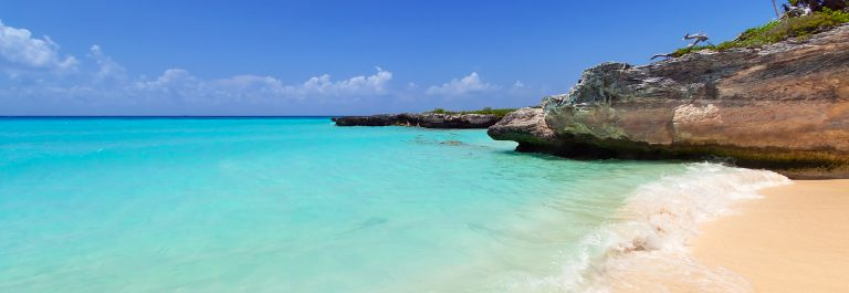 Caribbean-Sea-beach-in-Playa-del-Carmen-Mexico_shutterstock_164822540