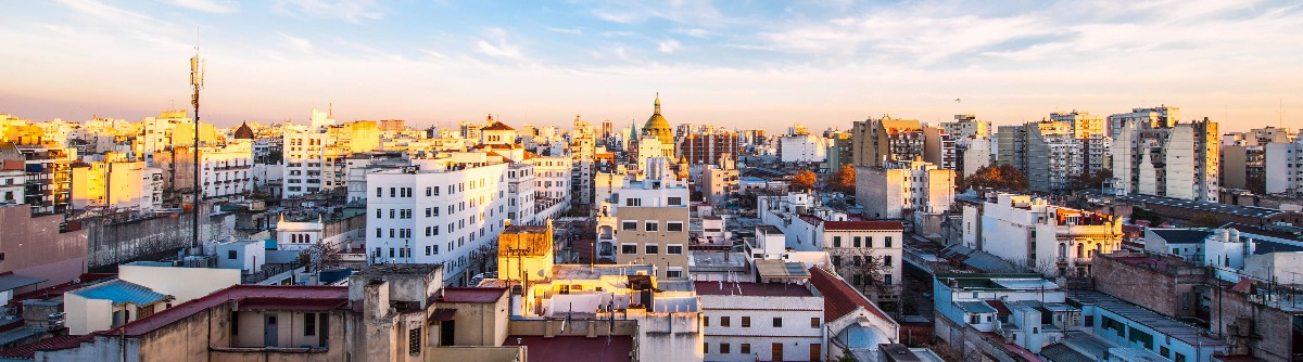 Early morning in Buenos Aires, Argentina