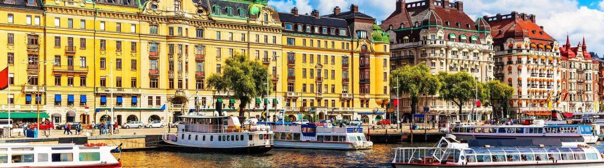 Gamla Stan, die Altstadt von Stockholm, Schweden