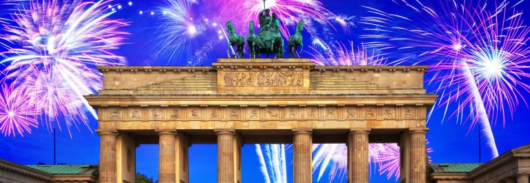 New-Years-firework-display-over-Brandenburg-Gate-in-Berlin-Germany_shutterstock_776916817