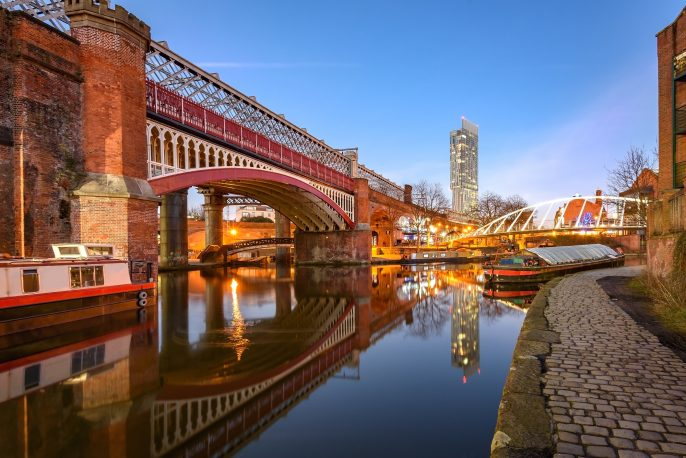 View-of-Manchester-tallest-building-Beetham-Tower-reflecting-in-Manchester-Canal._306684230