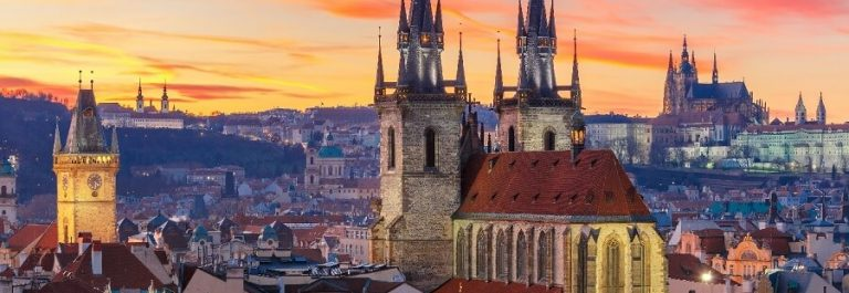 Old-Town-at-Sunset-Prague-iStock-505091588