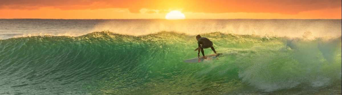 Surfer in Australien